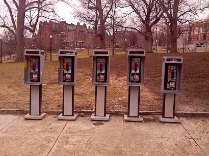 Payphones in Boston