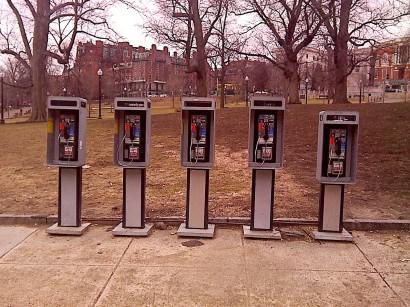 Payphones in Boston
