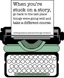 Writing tips for when you're stuck on a story